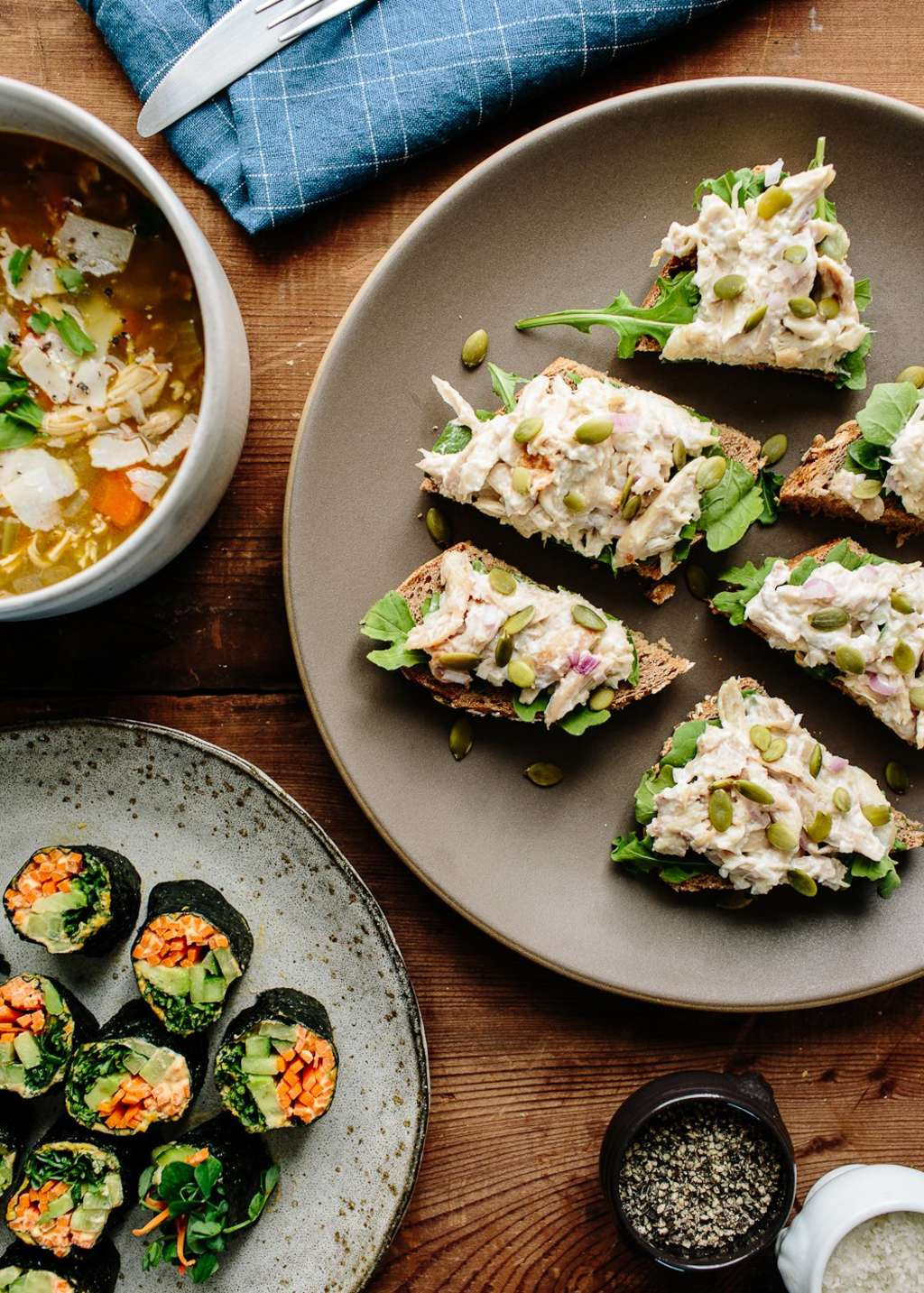 Healthy Make Ahead Lunches For Week  A Week of Healthy Make Ahead Lunches from Joy Manning