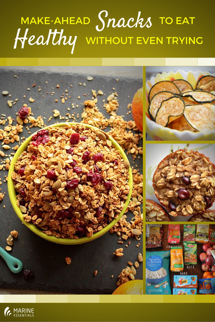 Healthy Make Ahead Snacks  Make Ahead Snacks To Eat Healthy Without Even Trying