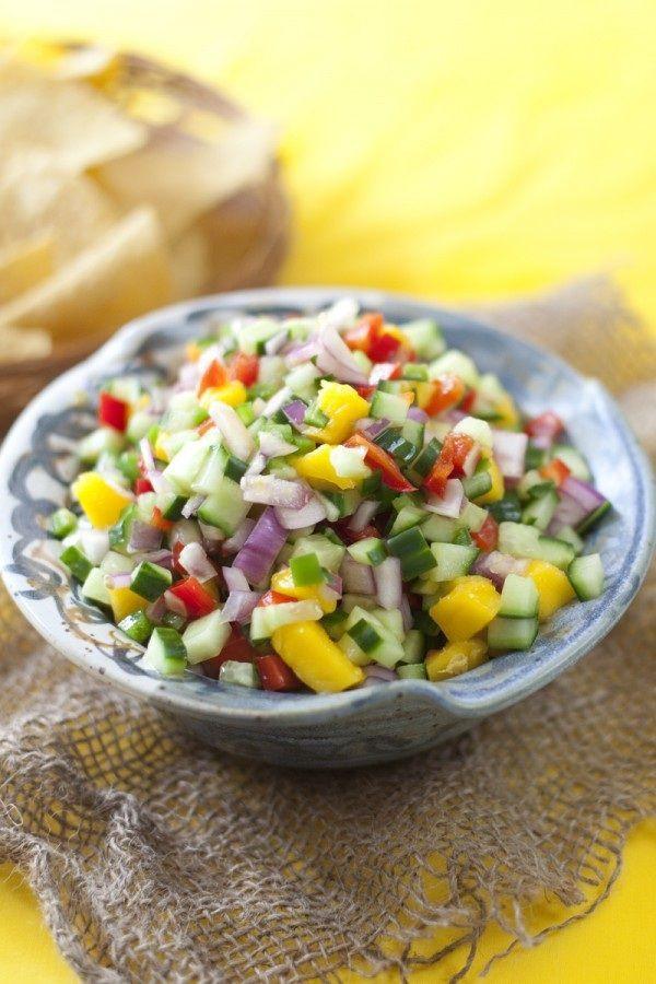 Healthy Mango Recipes  Fresh Mango Salsa Recipe Healthy Recipes