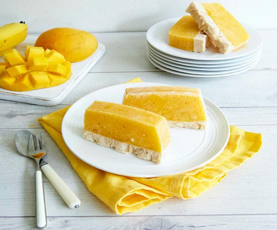 Healthy Mango Recipes  Healthy Frozen Mango And Banana Dessert Bar Recipe