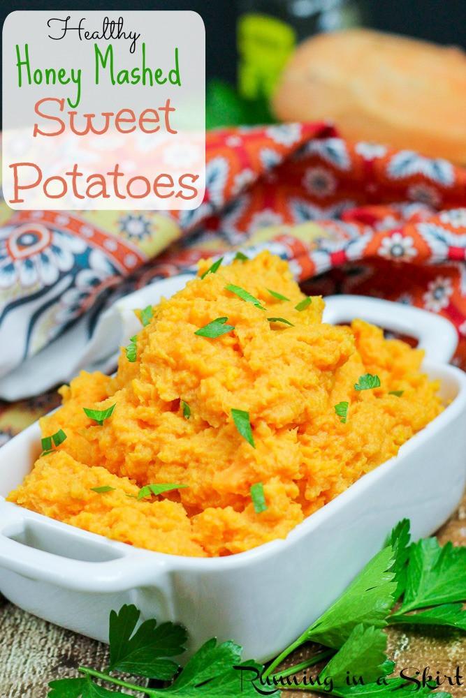 Healthy Mashed Sweet Potatoes  Honey Mashed Sweet Potatoes