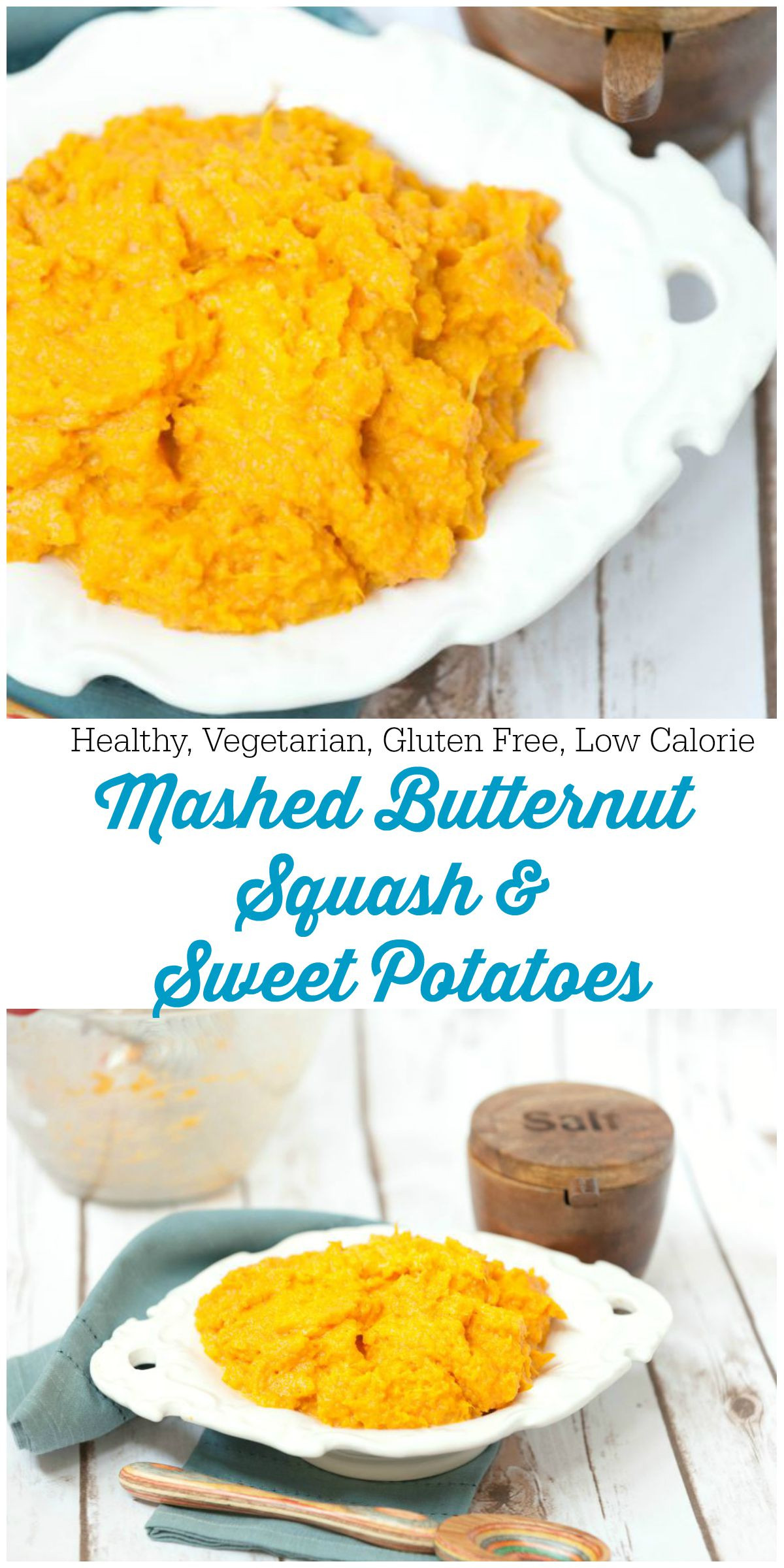 Healthy Mashed Sweet Potatoes  Healthy Mashed Butternut Squash and Sweet Potatoes