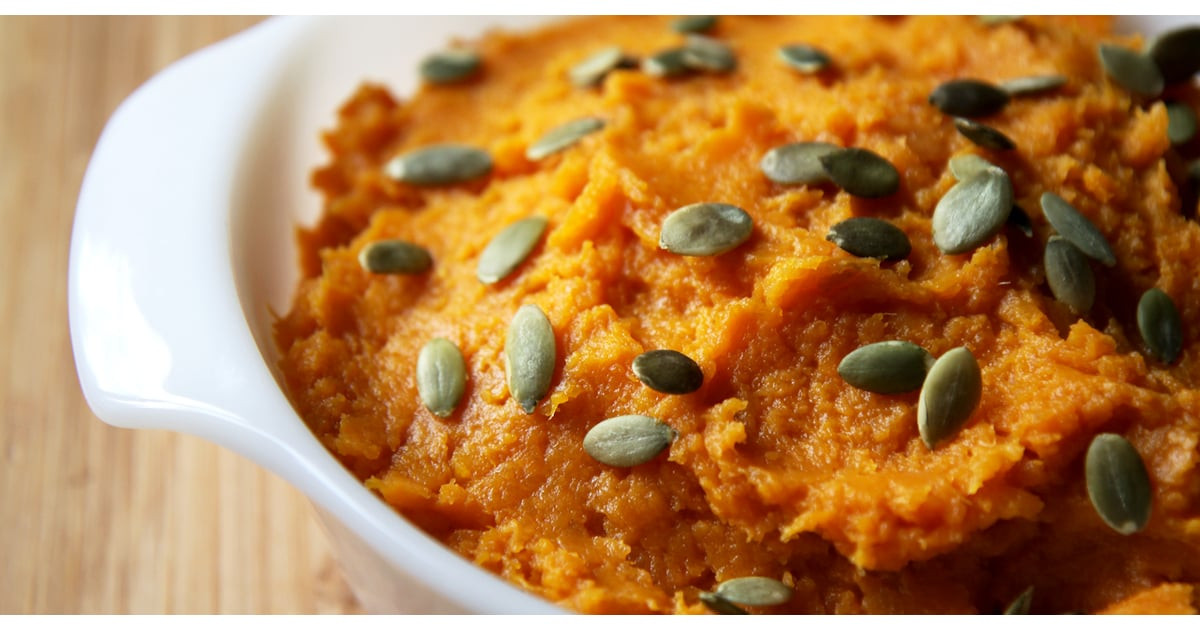 Healthy Mashed Sweet Potatoes  Healthy Sides Spiced Mashed Sweet Potato