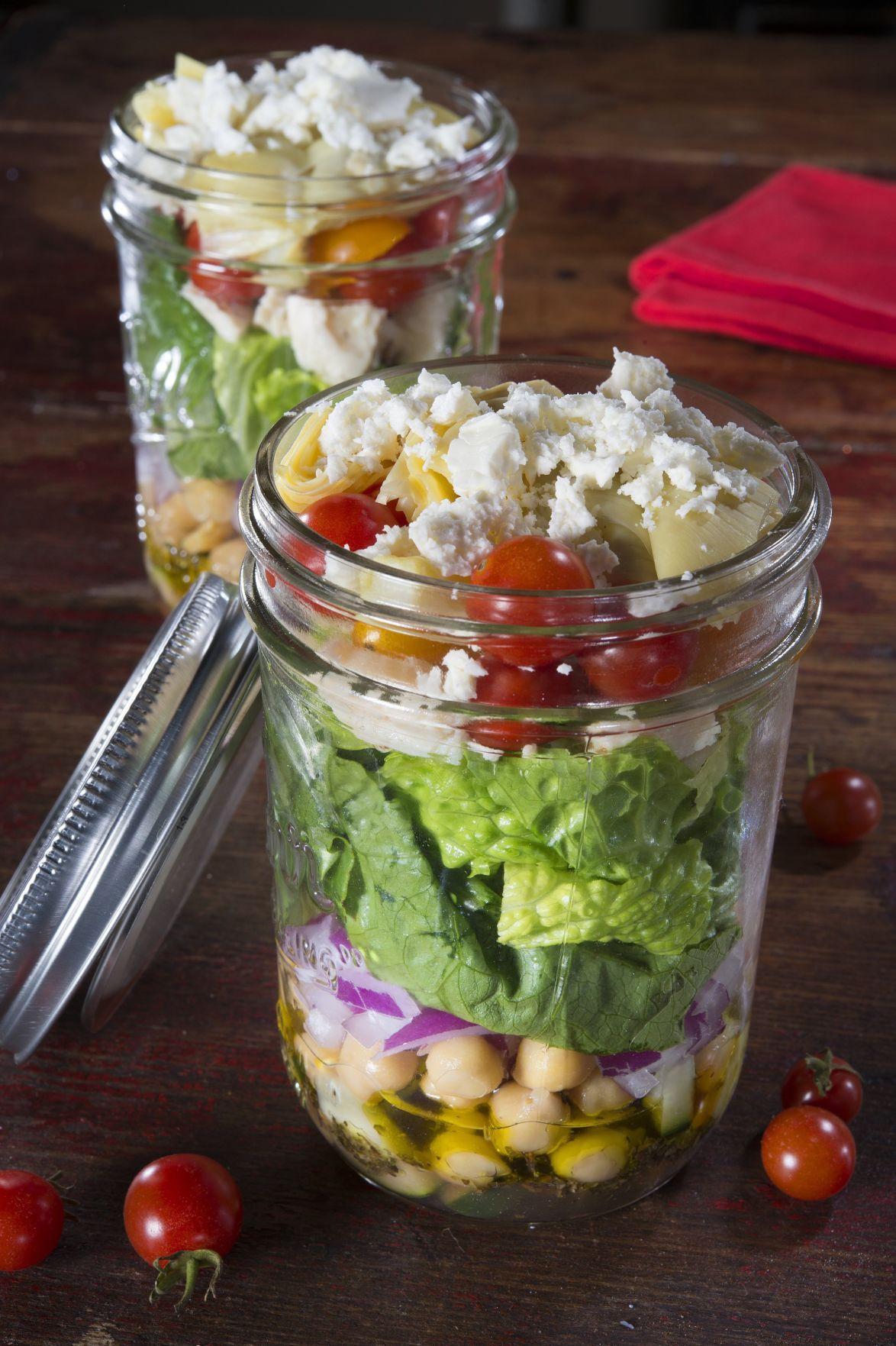 Healthy Mason Jar Lunches  Mason jar meals for on the go health