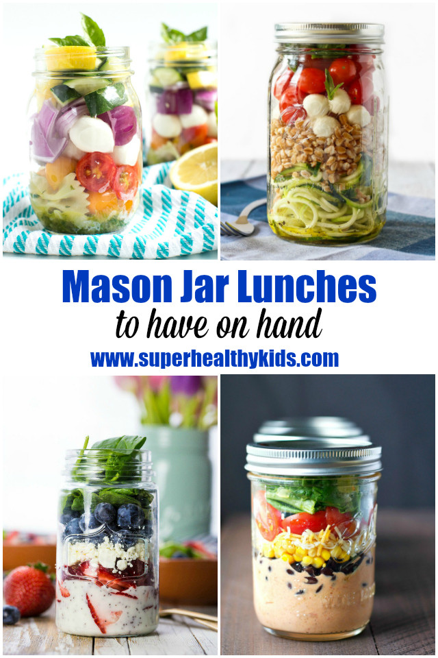 Healthy Mason Jar Lunches  10 Mason Jar Lunches to Have on Hand