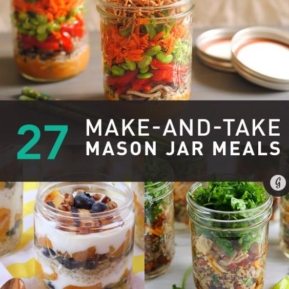 Healthy Mason Jar Lunches  27 Healthy and Portable Mason Jar Meals