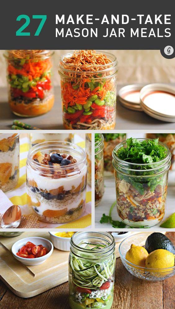 Healthy Mason Jar Lunches  26 Healthy and Portable Mason Jar Meals