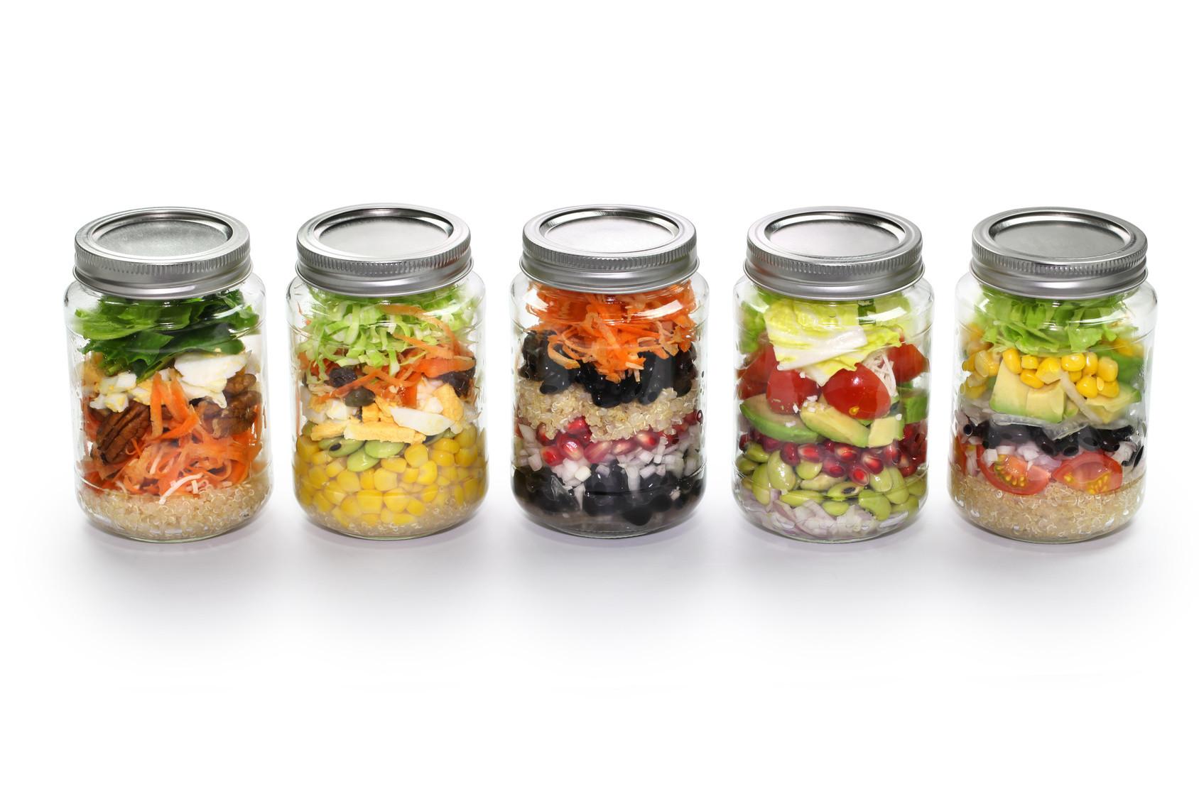 Healthy Mason Jar Lunches  Healthy Mason Jar Recipe