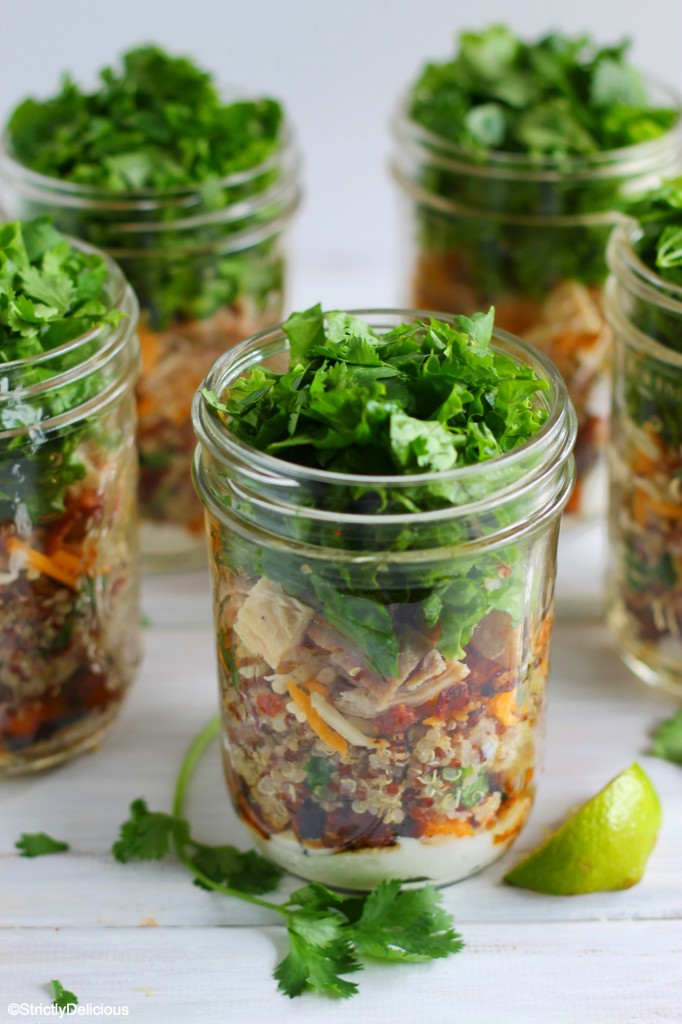Healthy Mason Jar Salads  Healthy Mason Jar Meals