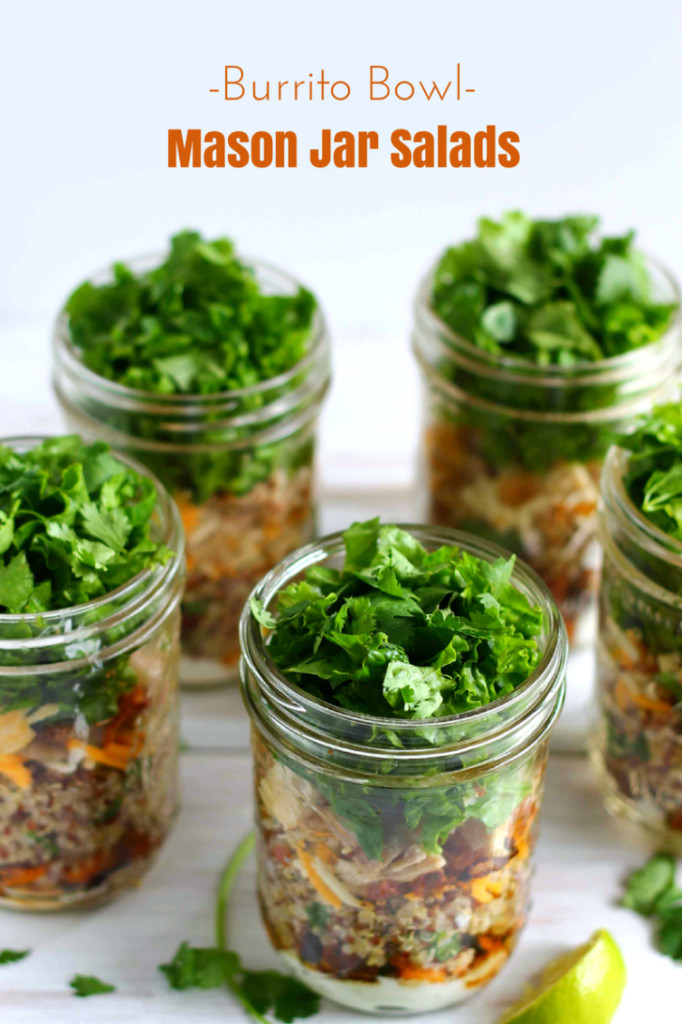 Healthy Mason Jar Salads  5 Healthy Mason Jar Salad Recipes to Make Ahead of Time
