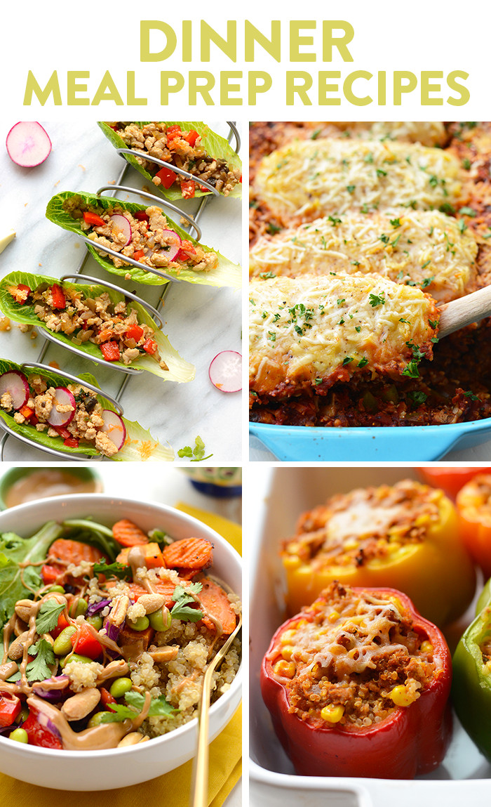 Healthy Meal Prep Dinners  Best Healthy Meal Prep Recipes Fit Foo Finds