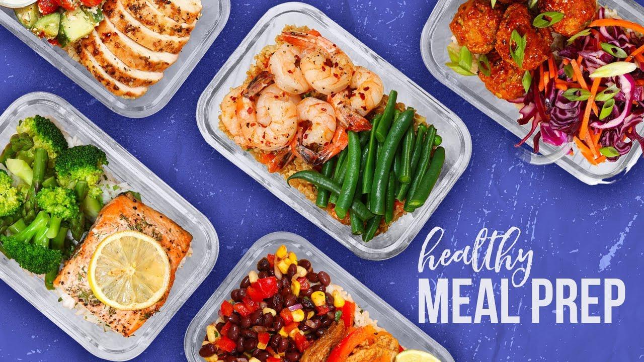 Healthy Meal Prep Dinners  5 Healthy MEAL PREP Ideas