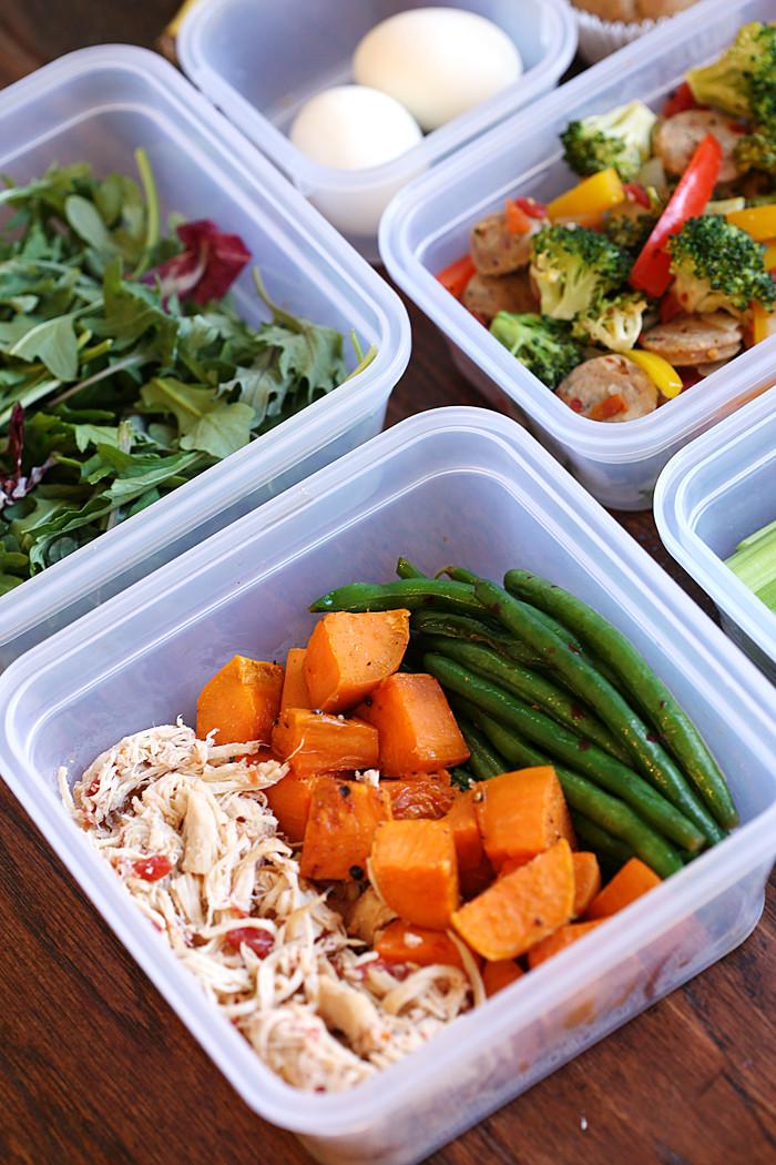 Healthy Meal Prep Dinners  My Weekly Meal Prep Routine Eat Yourself Skinny