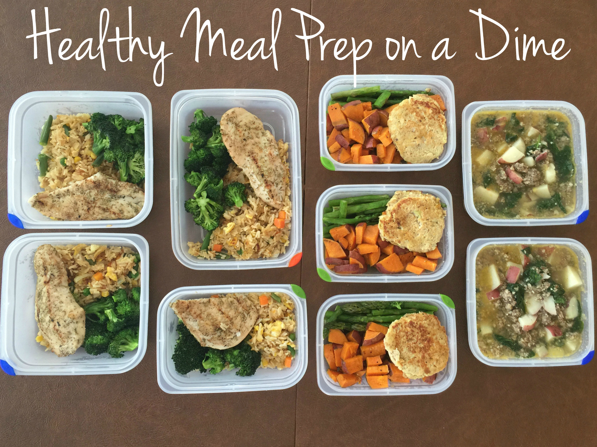 Healthy Meal Prep Dinners  Healthy Meal Prep on a Dime sssyrah