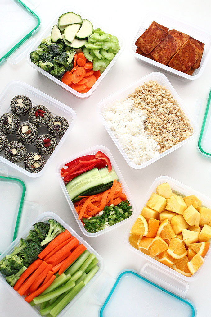 Healthy Meal Prep Lunches  Meal Prepping for Healthy Vegan Lunches on the Go I LOVE