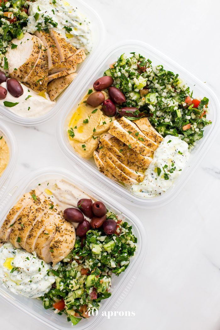 Healthy Meal Prep Lunches  Greek Healthy Meal Prep Recipe Paleo & Whole30 Meal Prep