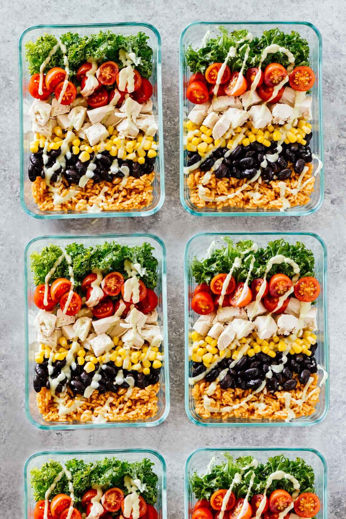 Healthy Meal Prep Lunches  Healthy Lunch Recipes For Work And Back To School Jar