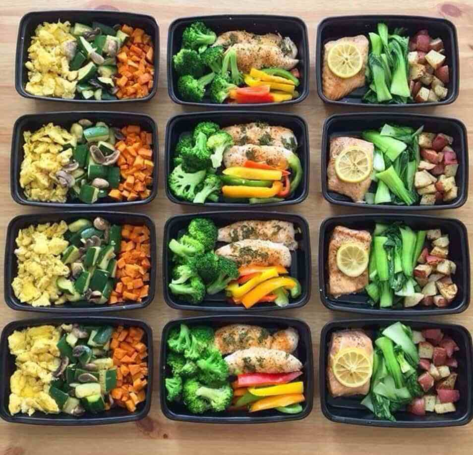 Healthy Meal Prep Lunches  Lunch and Dinner Meal Prep Meal Prep on Fleek™