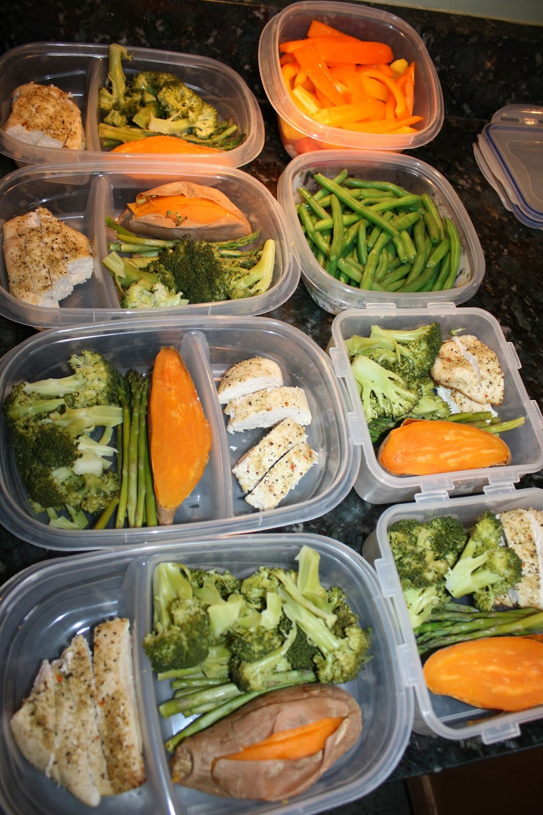 Healthy Meal Prep Lunches  Fit & Healthy Mommy Batch Meal Prep Clean Eating