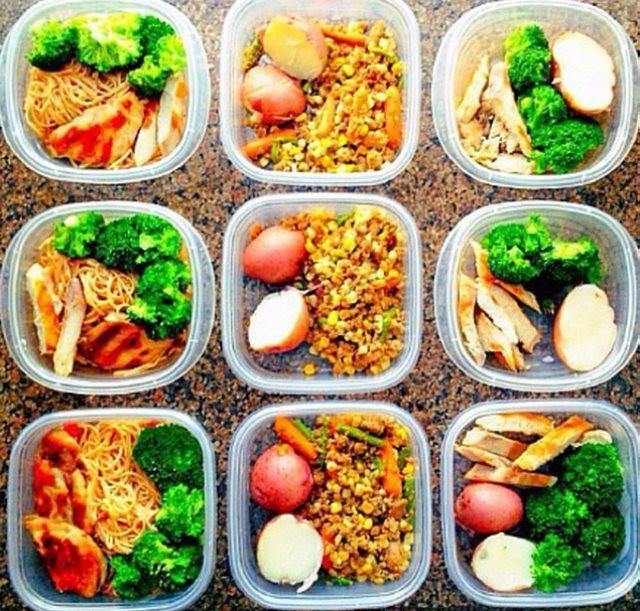 Healthy Meal Prep Recipes For Weight Loss  Alimentos sanos para adelgazar Punto Fape