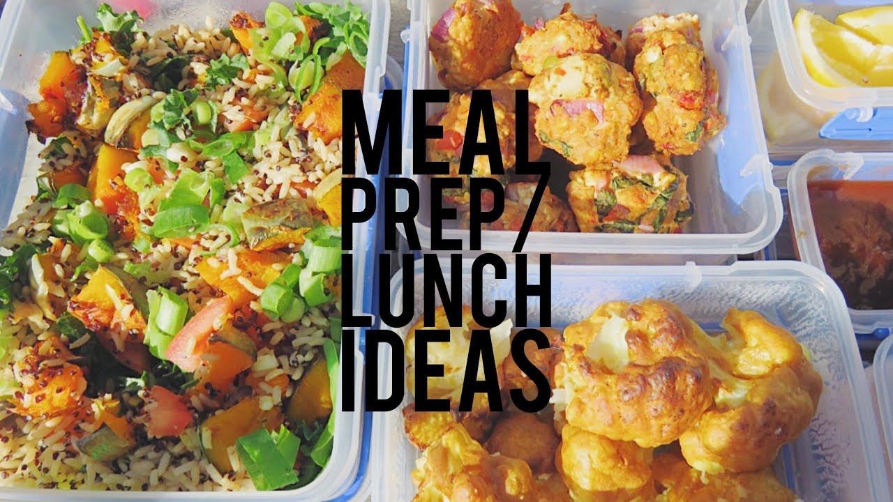 Healthy Meal Prep Recipes For Weight Loss  LUNCH MEAL PREP IDEAS HEALTHY WEIGHTLOSS RECIPES