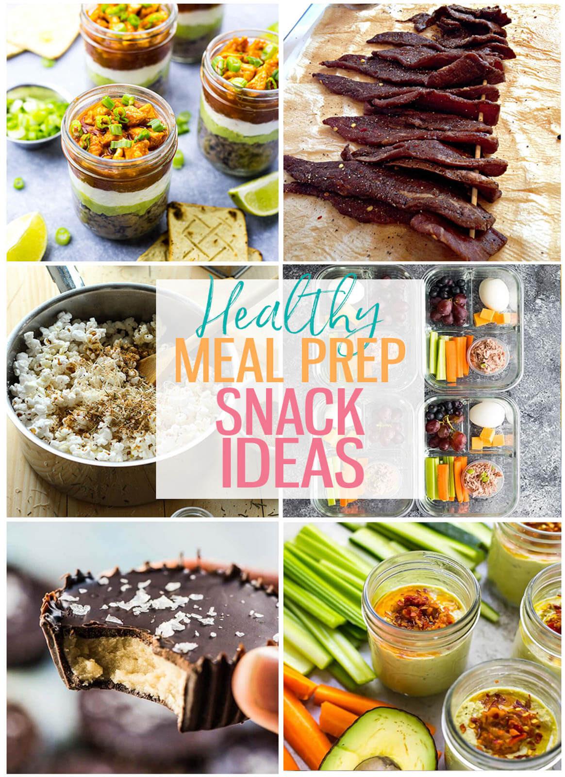 Healthy Meal Prep Snacks  18 Meal Prep Healthy Snacks for Work The Girl on Bloor