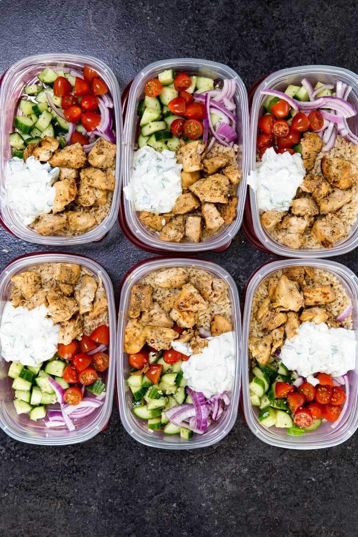 Healthy Meal Prep Snacks  20 Healthy Dinners You Can Meal Prep on Sunday The Everygirl