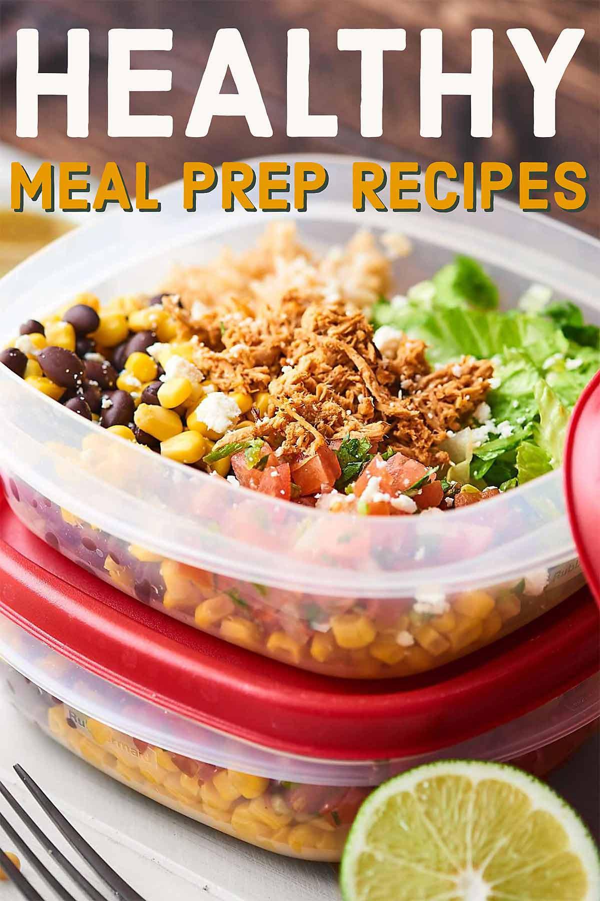 Healthy Meal Prep Snacks  Healthy Meal Prep Recipes 2018 Quick Easy Healthy