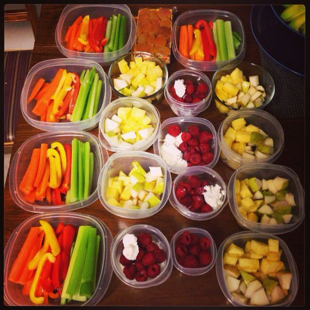 Healthy Meal Prep Snacks  Sunday meal prep Our snacks for the week carrots bell