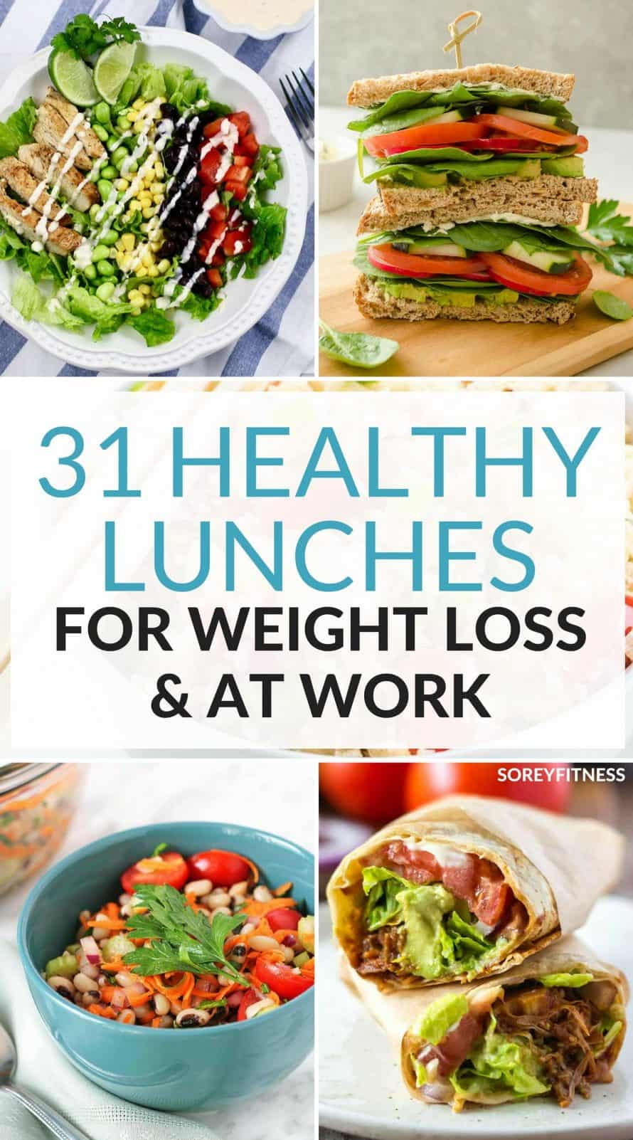 Healthy Meal Recipes For Weight Loss  31 Healthy Lunch Ideas For Weight Loss Easy Meals for