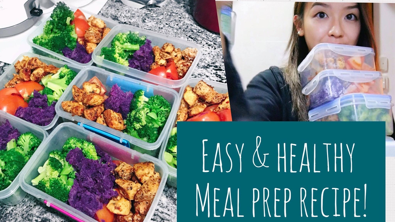Healthy Meal Recipes For Weight Loss  EASY & HEALTHY MEAL PREP RECIPE 💕