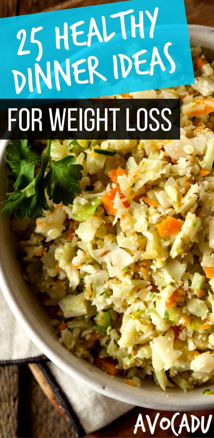 Healthy Meal Recipes For Weight Loss  Diet Plans To Lose Weight 25 Healthy Dinner Ideas for