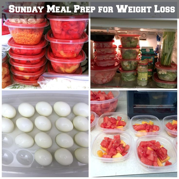 Healthy Meal Recipes For Weight Loss  Sunday Meal Prep for Weight Loss food