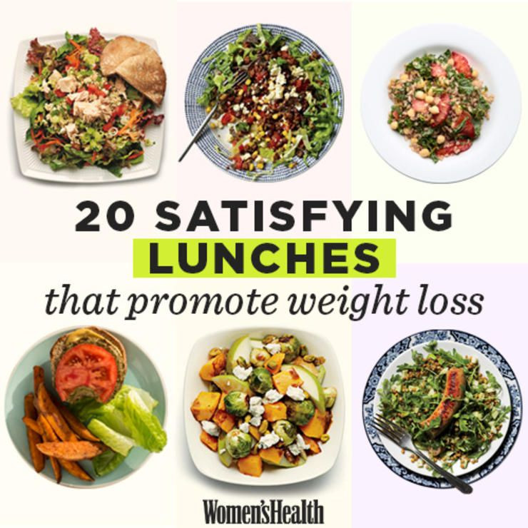 Healthy Meal Recipes For Weight Loss  24 Delicious Healthy Lunches That Will Help You Lose