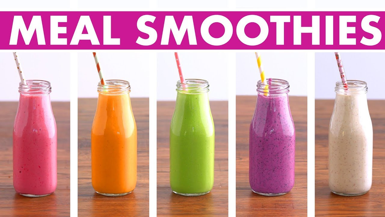 Healthy Meal Replacement Smoothie Recipes  5 Healthy Meal Replacement Smoothies Recipes Fruit