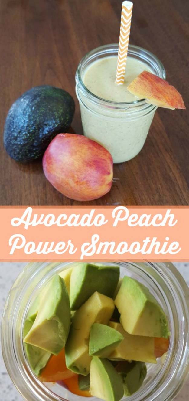 Healthy Meal Replacement Smoothie Recipes  avocado meal replacement