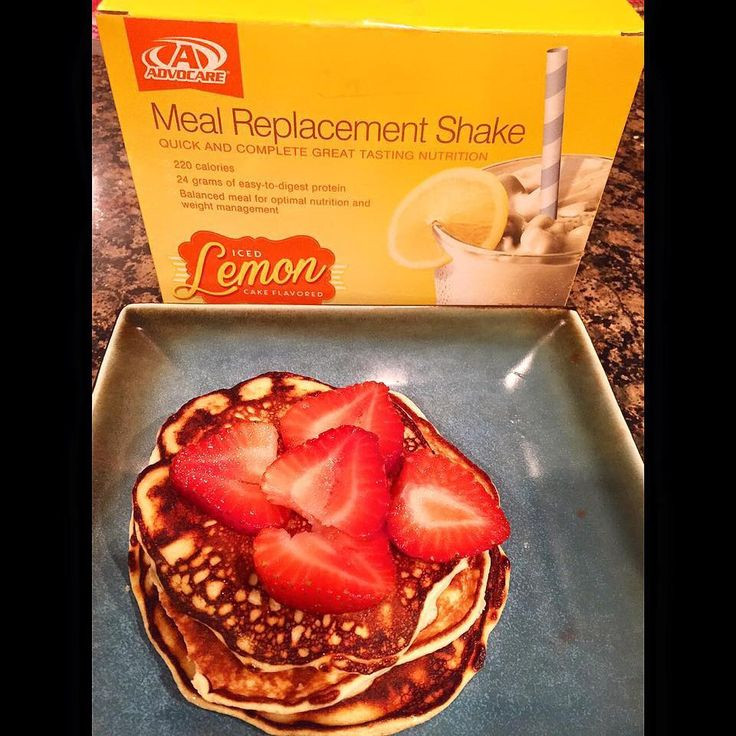 Healthy Meal Replacement Smoothie Recipes  Our Lemon Meal Replacement Shake just took pancakes to