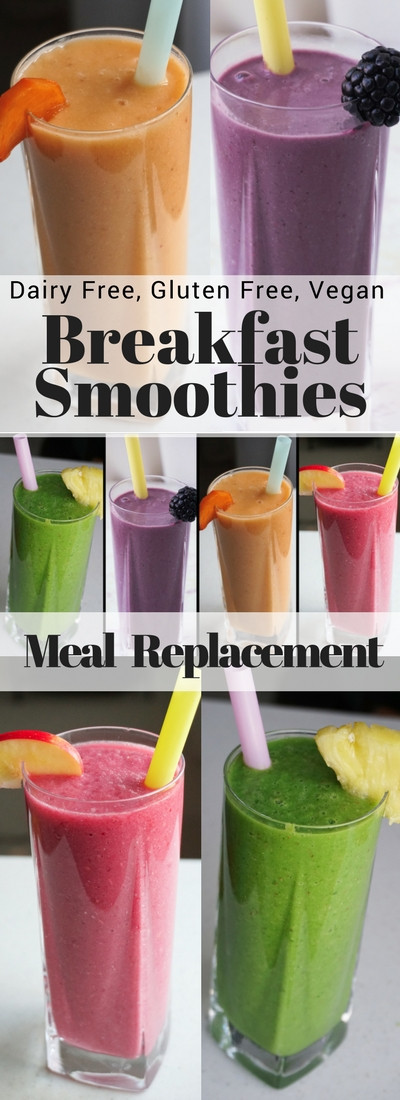 Healthy Meal Replacement Smoothies  Healthy Breakfast Smoothies As Meal Replacement
