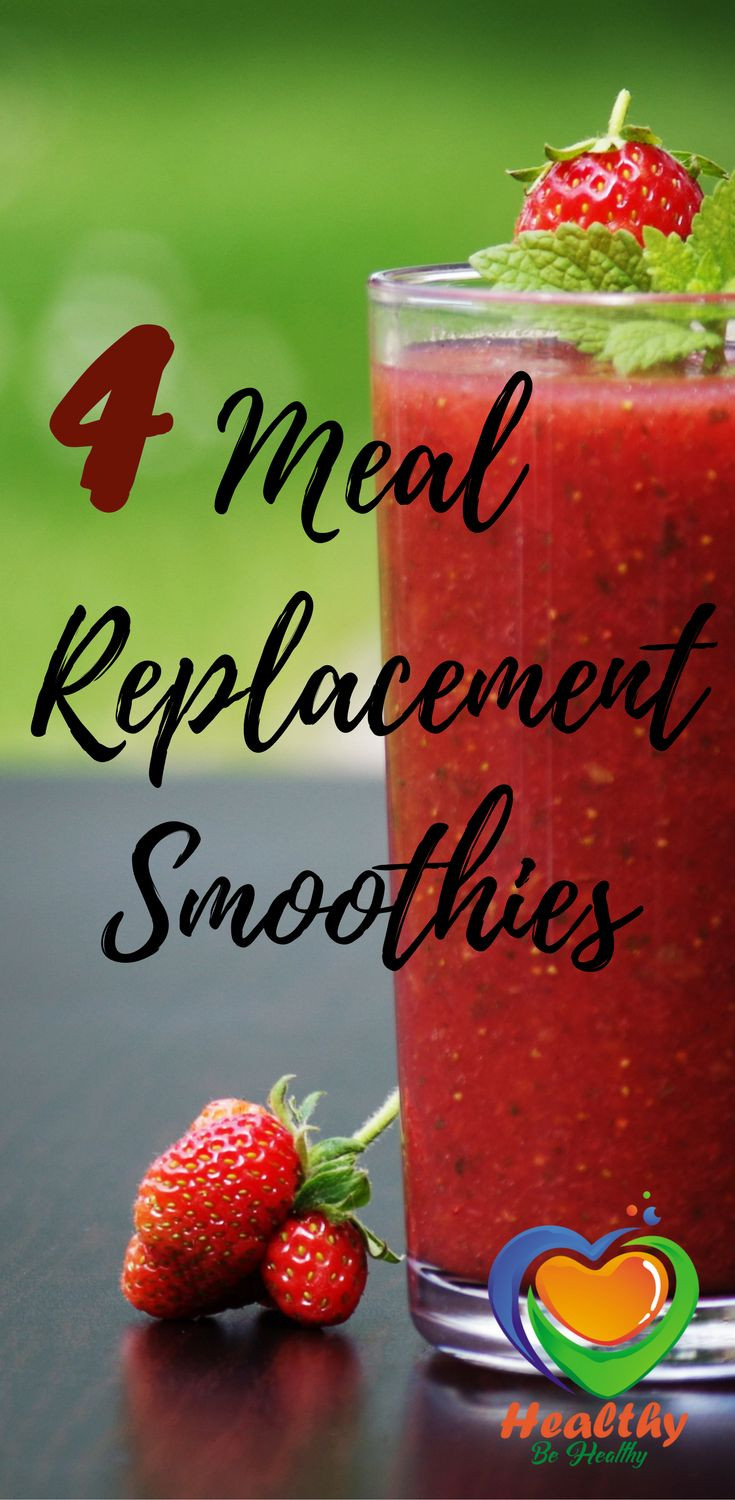 Healthy Meal Replacement Smoothies  22 best Shake Recipes images on Pinterest