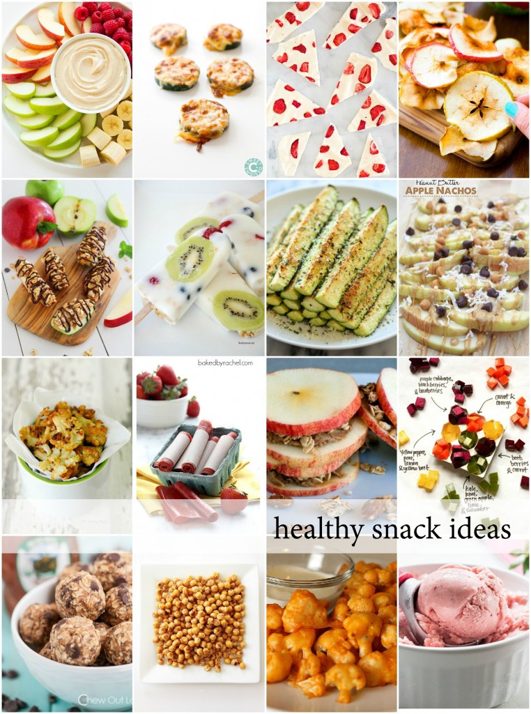Healthy Meals And Snacks  Healthy Snacks The Idea Room