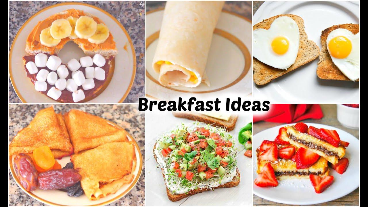 Healthy Meals For Breakfast  simple healthy breakfast recipes