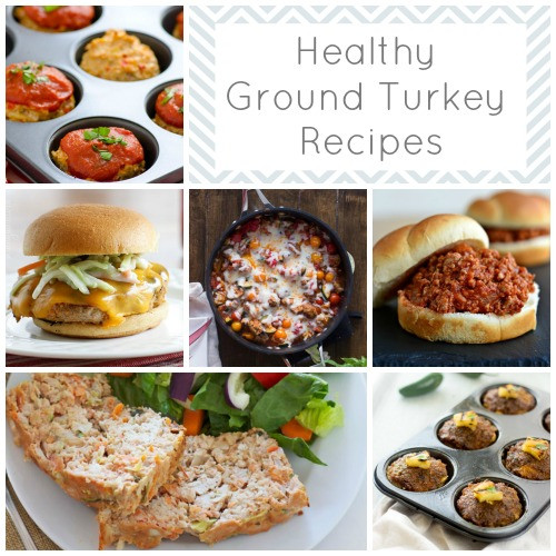 Healthy Meals With Ground Turkey  23 Healthy Ground Turkey Recipes to Tempt You