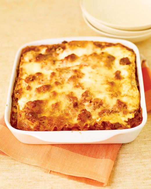 Healthy Meat Lasagna Recipe 20 Of the Best Ideas for Healthier Meat Lasagna Recipe From Everyday Food