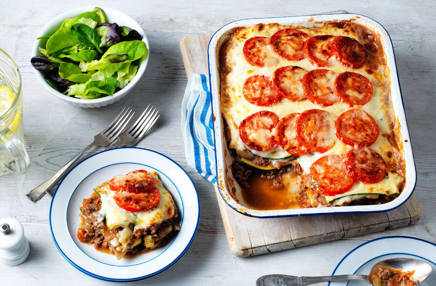 Healthy Meat Lasagna Recipe  Healthy Lasagne Recipe Cour te Recipe