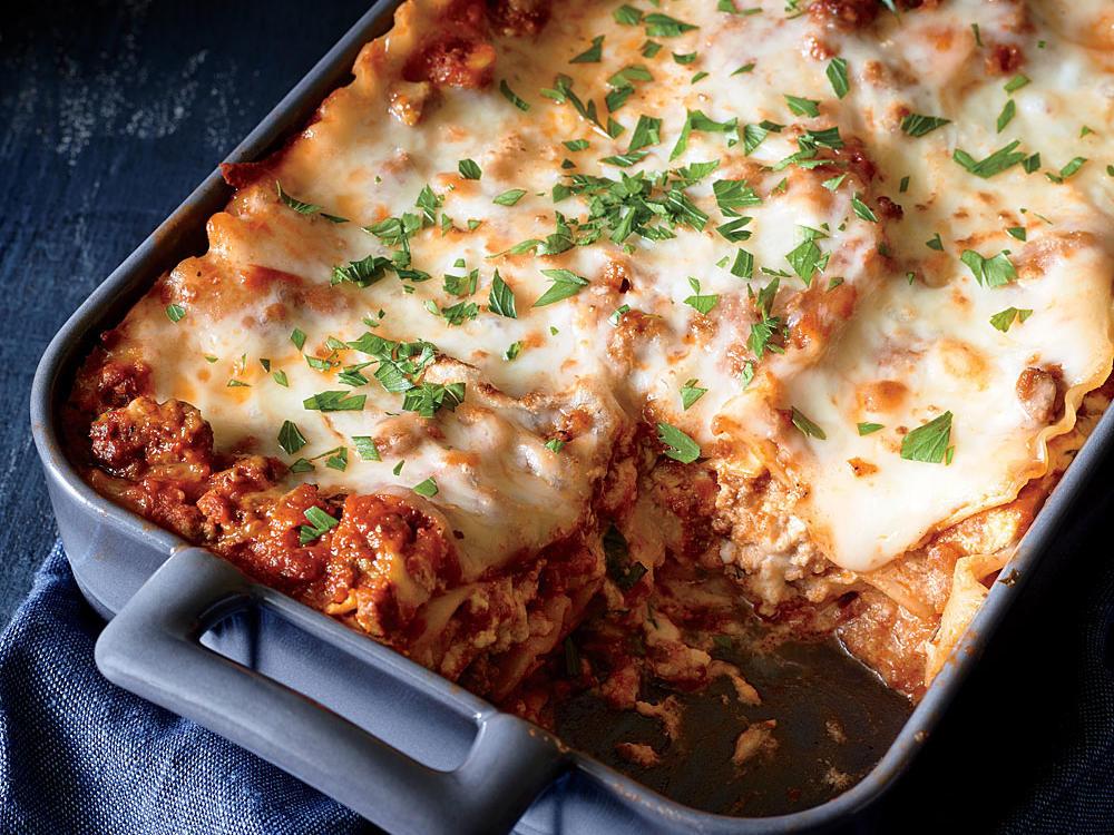 Healthy Meat Lasagna Recipe  35 Healthy Lasagna Recipes Cooking Light