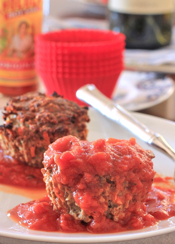 Healthy Meatloaf Muffins  Quick Healthy Delicious Meatloaf Muffins and a Giveaway