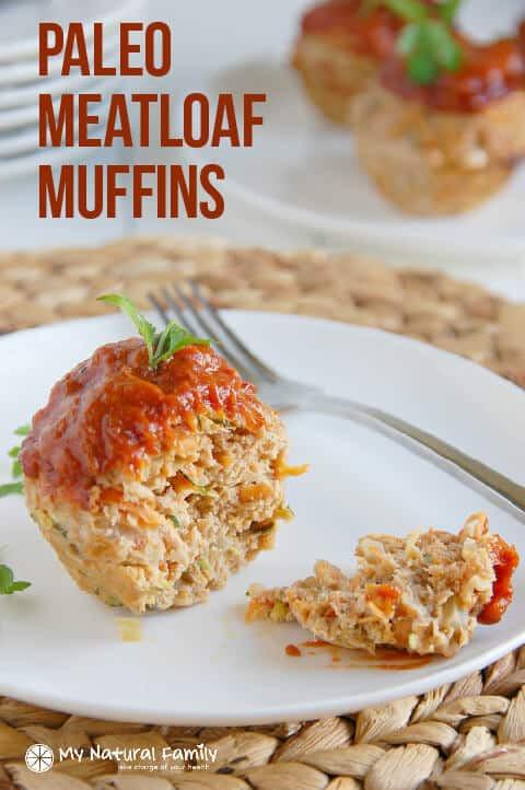 Healthy Meatloaf Muffins  Veggie Paleo Meatloaf Muffins Recipe Clean Eating Gluten