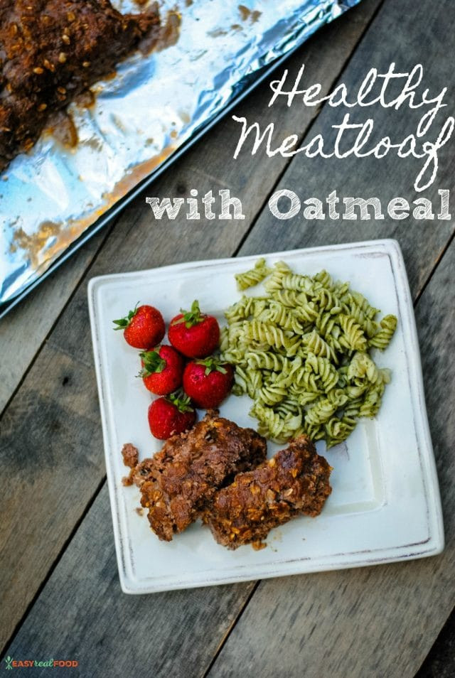 Healthy Meatloaf Recipe With Oatmeal  Healthy Meatloaf Recipe with Oatmeal Easy Real Food