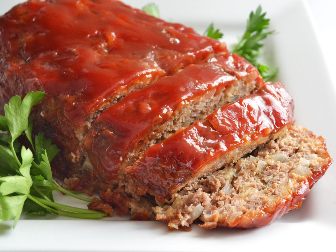 Healthy Meatloaf Recipe With Oatmeal  Quaker oatmeal prize winning meat loaf Recipe