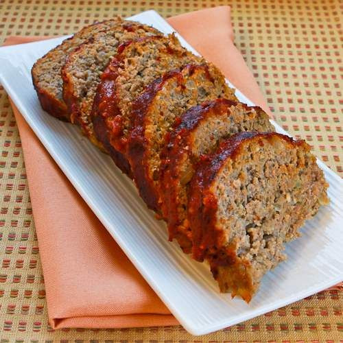 Healthy Meatloaf Recipe With Oatmeal  Turkey Pesto Meatloaf with Tomato Sauce